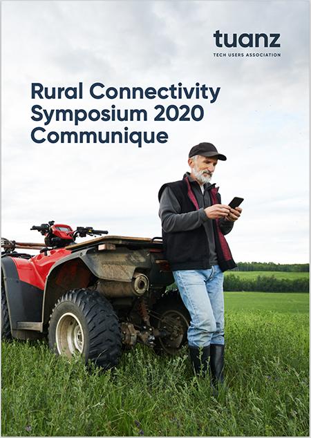 TUANZ Rural Broadband 2020 Symposium Communique